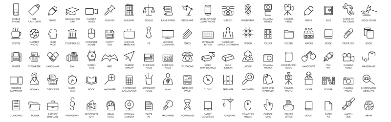 stock icon set
